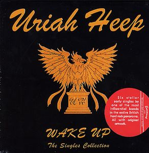 Uriah Heep Wake Up - The Singles Collection album cover