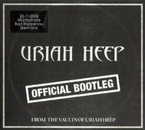 Uriah Heep Official Bootleg Bad Rappenau 2009 album cover