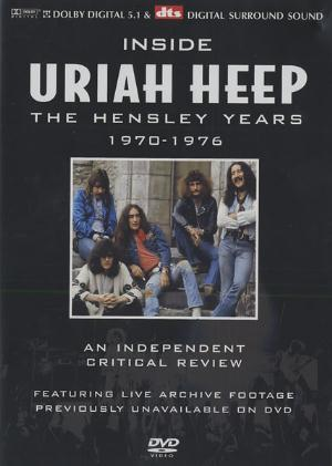 Uriah Heep Inside Uriah Heep - The Hensley Years 1970-1976 album cover