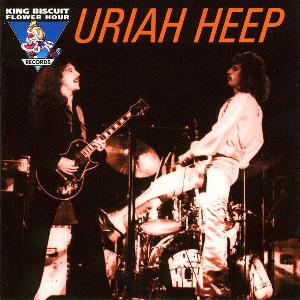 Uriah Heep - Live On The King Biscuit Flower Hour CD (album) cover