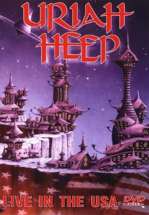 Uriah Heep Live In The USA (DVD) album cover