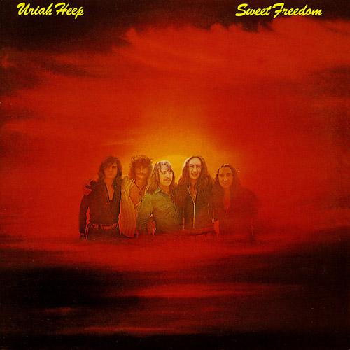 Uriah Heep Sweet Freedom album cover