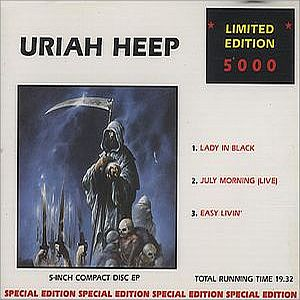 Uriah Heep Lady In Black album cover