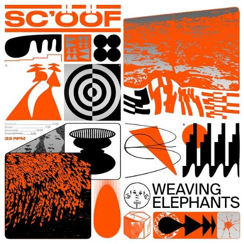 Sc'ööf - Weaving Elephants CD (album) cover