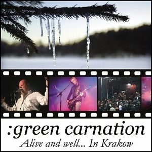 Green Carnation - Alive And Well... In Krakow CD (album) cover