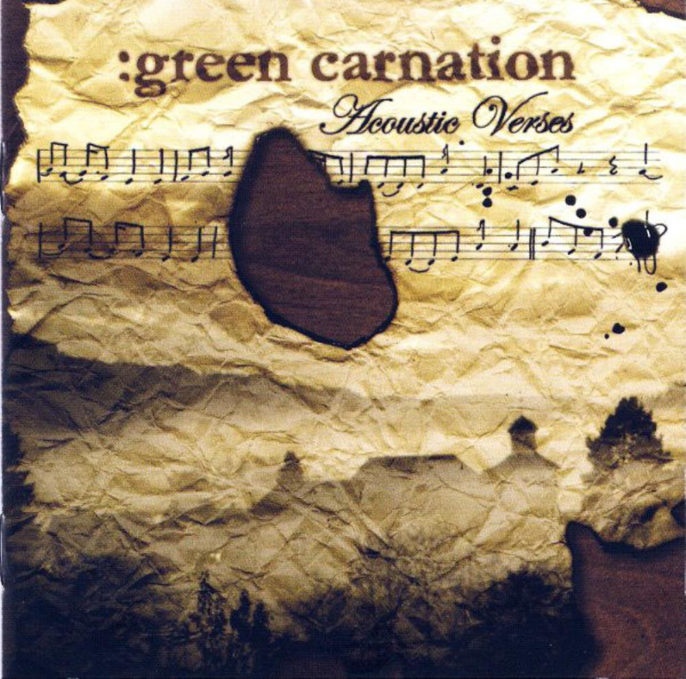 Green Carnation - The Acoustic Verses CD (album) cover