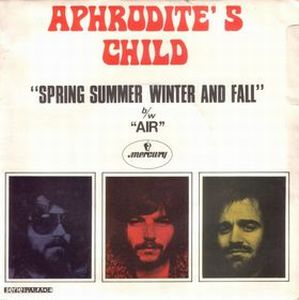 Aphrodite's Child Spring Summer Winter and Fall album cover