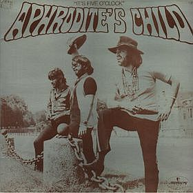 Aphrodite's Child - It's Five O'Clock CD (album) cover