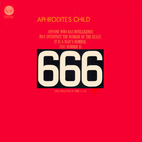 Aphrodite's Child - 666 CD (album) cover