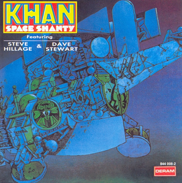 Khan - Space Shanty CD (album) cover