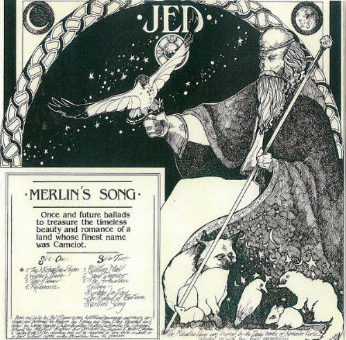 Merlin's Song by JED album cover
