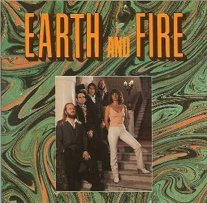 Earth & Fire Song of the Marching Children / Atlantis album cover