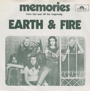 Earth And Fire - Memories CD (album) cover