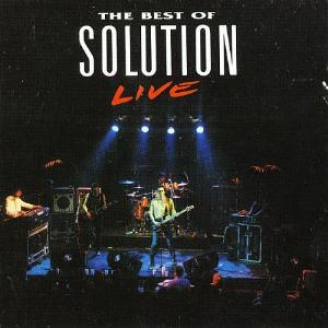 Solution The Best of Solution Live album cover
