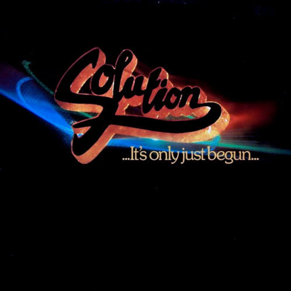 Solution - It's Only Just Begun CD (album) cover