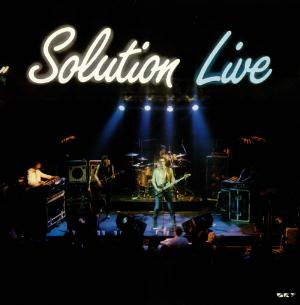 Solution Solution Live  album cover