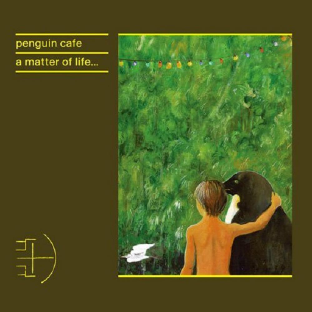 A Matter of Life... by PENGUIN CAFE album cover