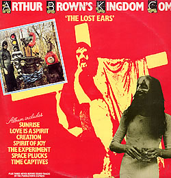 The Lost Ears by BROWN'S KINGDOM COME, ARTHUR album cover