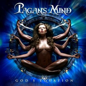 Pagan's Mind - God's Equation CD (album) cover
