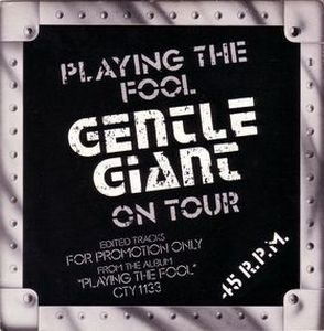 Gentle Giant Just the Same (live) album cover