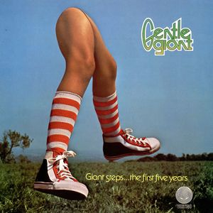 Gentle Giant Giant Steps...The First Five Years 1970-1975 album cover