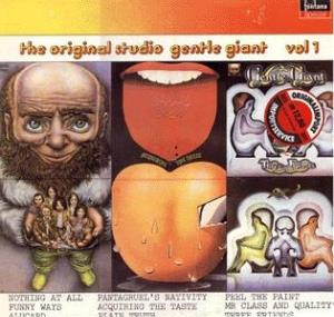 The Original Studio Gentle Giant - Vol. 1 by GENTLE GIANT album cover