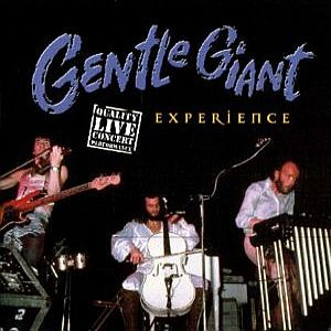 Gentle Giant - Experience CD (album) cover