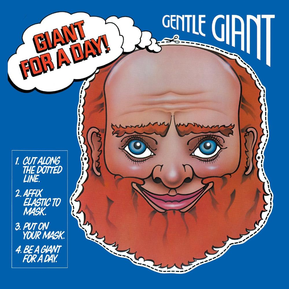 Gentle Giant - Giant For A Day CD (album) cover