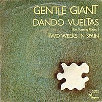 Gentle Giant Dando Vueltas album cover