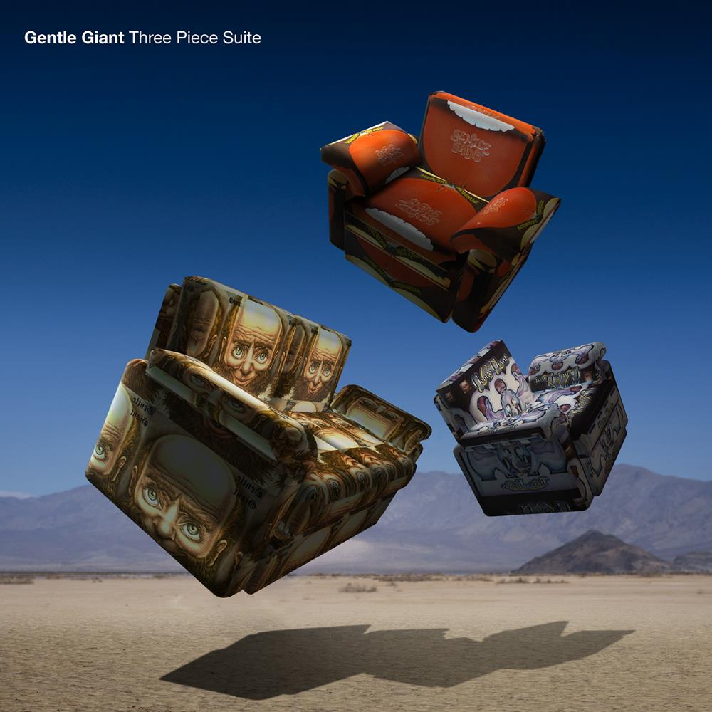 Gentle Giant Three Piece Suite album cover