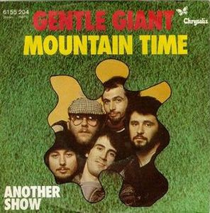 Gentle Giant Mountain Time album cover