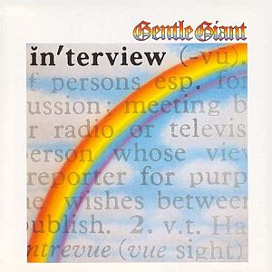 Gentle Giant Interview album cover