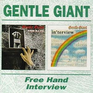 Gentle Giant Free Hand/Interview album cover