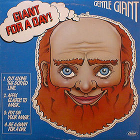 Gentle Giant Giant For A Day  album cover
