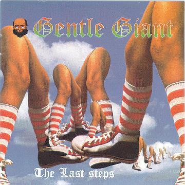 The Last Steps  by GENTLE GIANT album cover