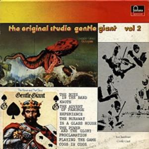 Gentle Giant The Original Studio Gentle Giant - Vol. 2 album cover
