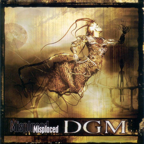 DGM - Misplaced CD (album) cover