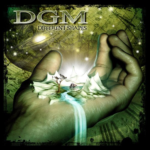 DGM - Different Shapes CD (album) cover