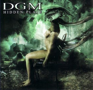 Hidden Place by DGM album cover
