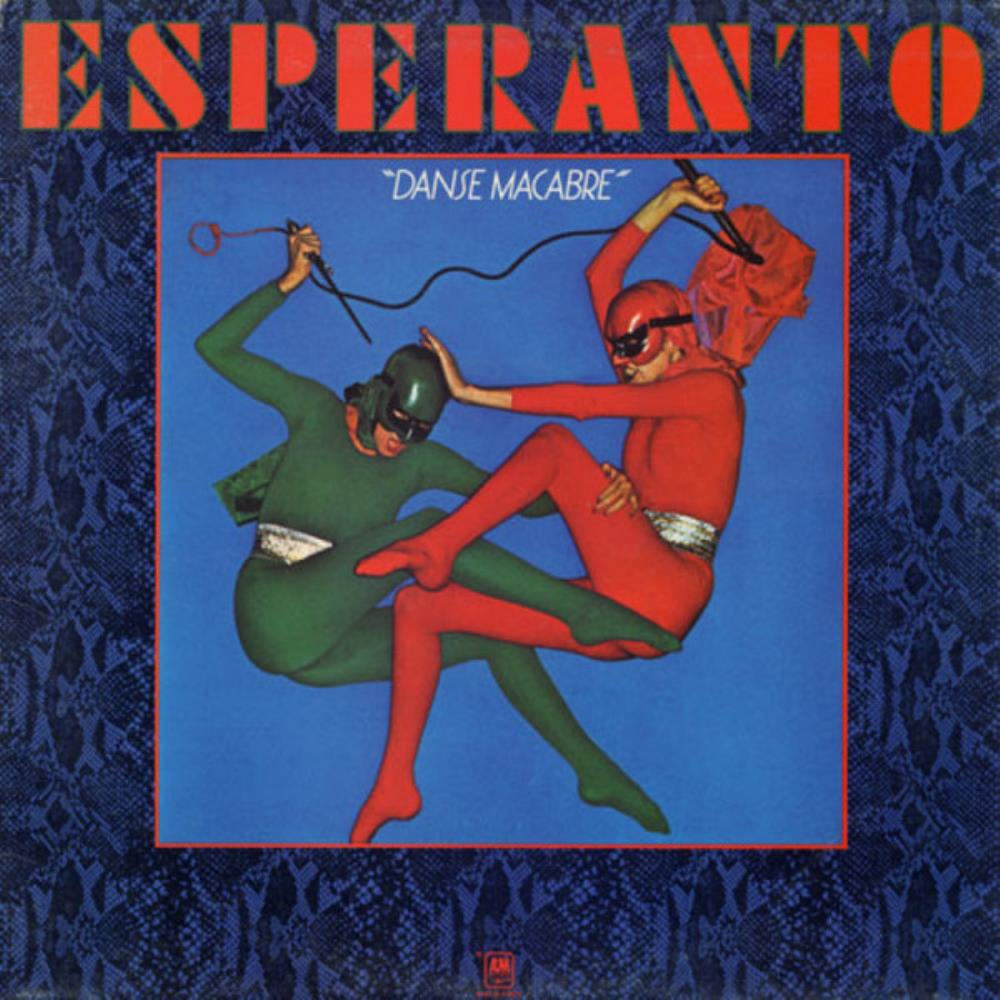 Danse Macabre by ESPERANTO album cover