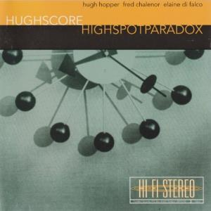 Highspotparadox by HUGHSCORE album cover