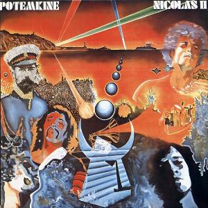 Potemkine - Nicolas II CD (album) cover