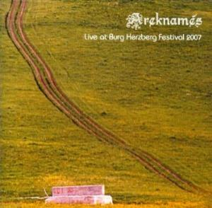 Areknam�s - Live At Burg Herzberg Festival 2007 CD (album) cover