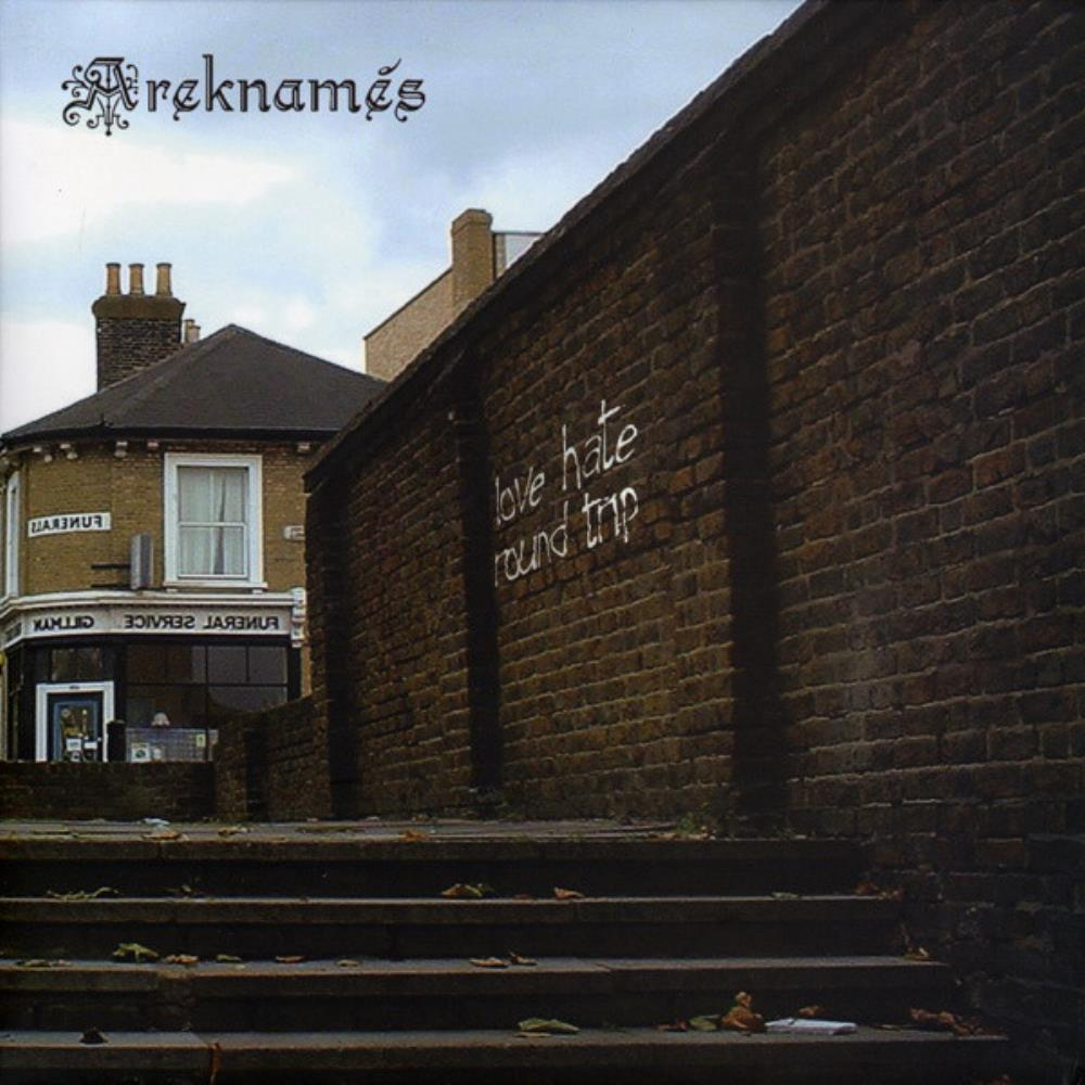 Love Hate Round Trip by AREKNAMÉS album cover