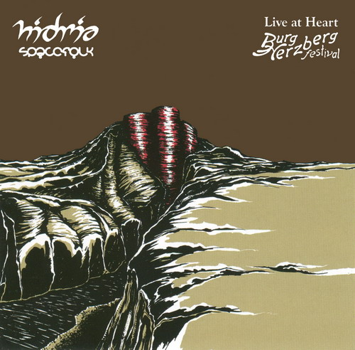 Hidria Spacefolk - Live at Heart CD (album) cover