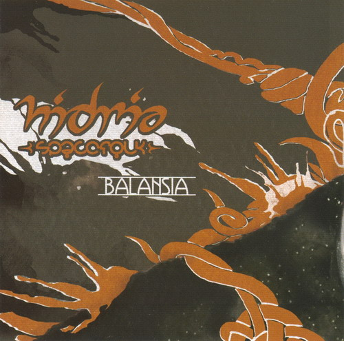 Hidria Spacefolk - Balansia  CD (album) cover