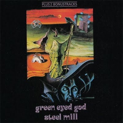 Green Eyed God by STEEL MILL album cover