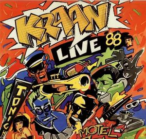 Kraan - Kraan - Live 88 CD (album) cover