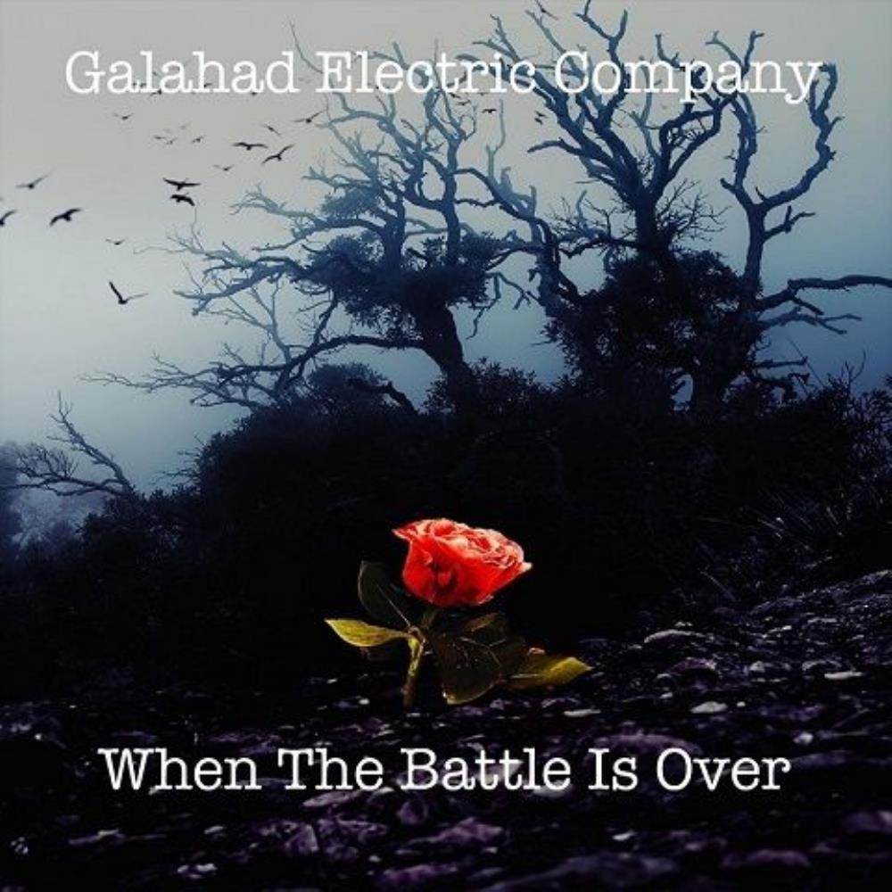 Galahad - Galahad Electric Company: When the Battle Is Over CD (album) cover