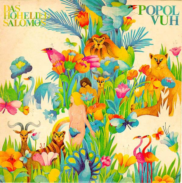 Popol Vuh - Das Hohelied Salomos CD (album) cover